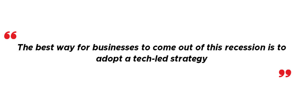 Tech-led strategy in US economy