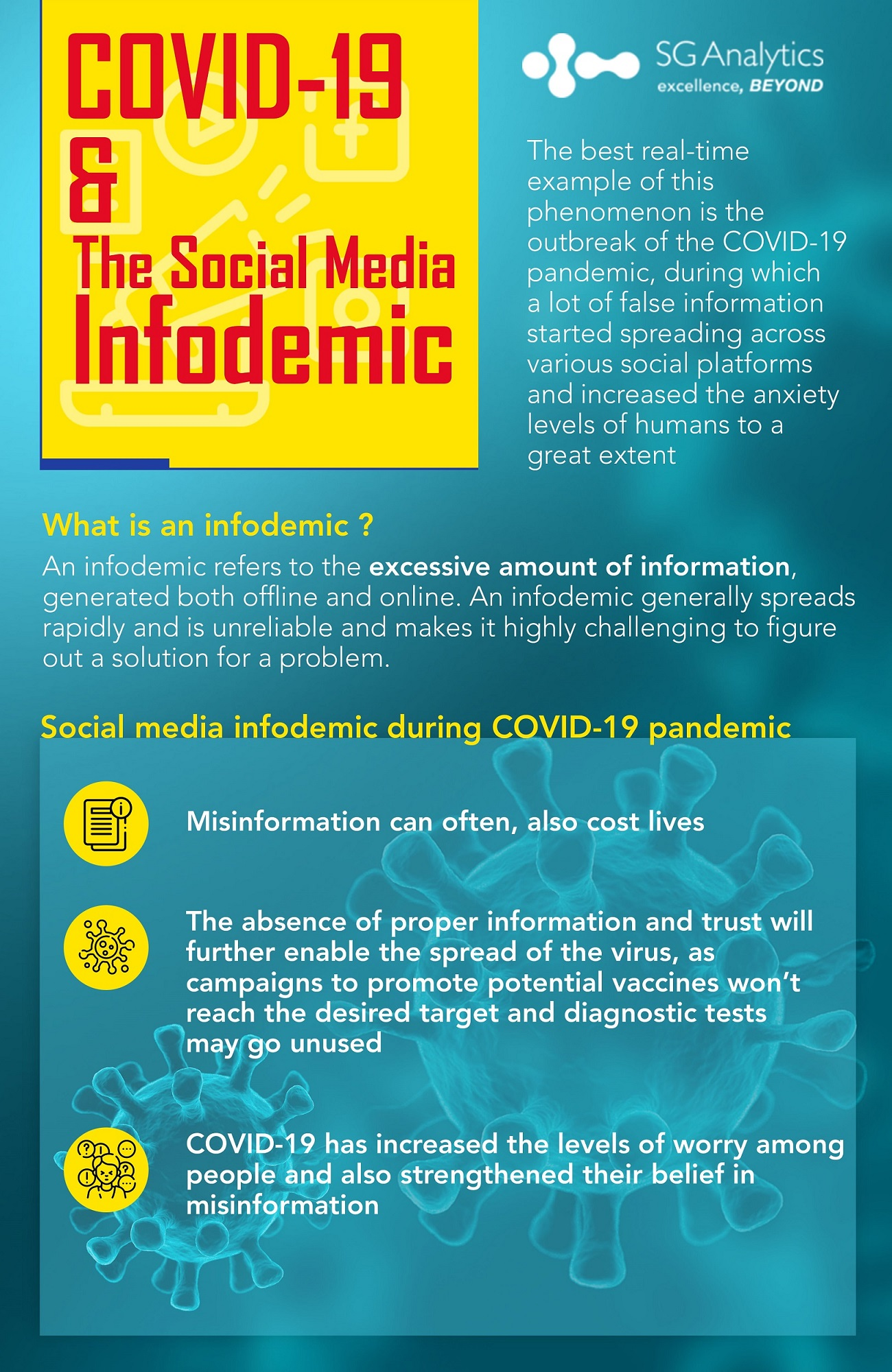 What is social media infodemic?
