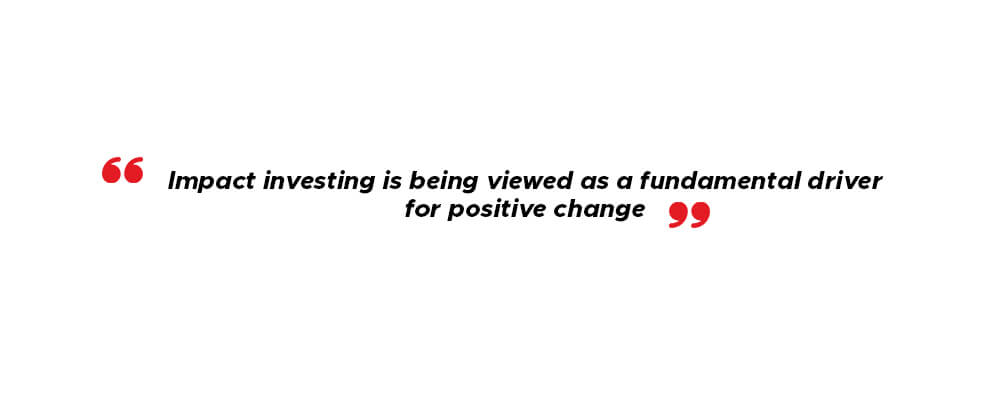 Impact investing has become mainstream